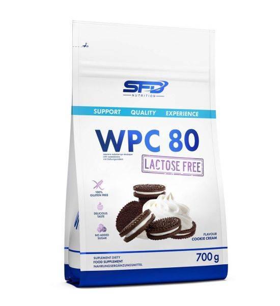 SFD WPC 80 LACTOSE FREE 700G - RASPBERRY