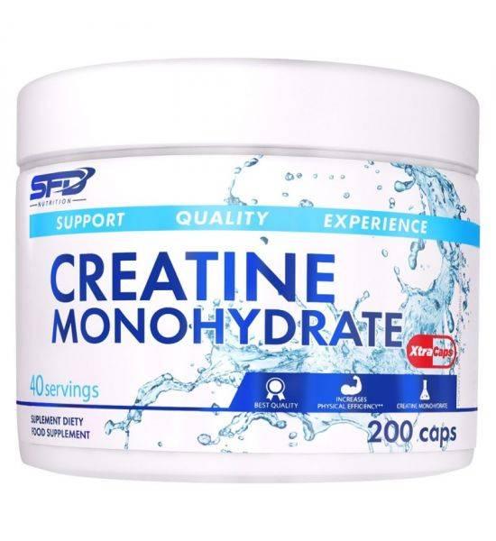 SFD CREATINE MONOHYDRATE XTRA CAPS 200 CAPSULES