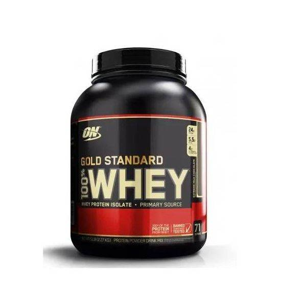 OPTIMUM NUTRITION WHEY GOLD 2270G - DOUBLE RICH CHOCOLATE