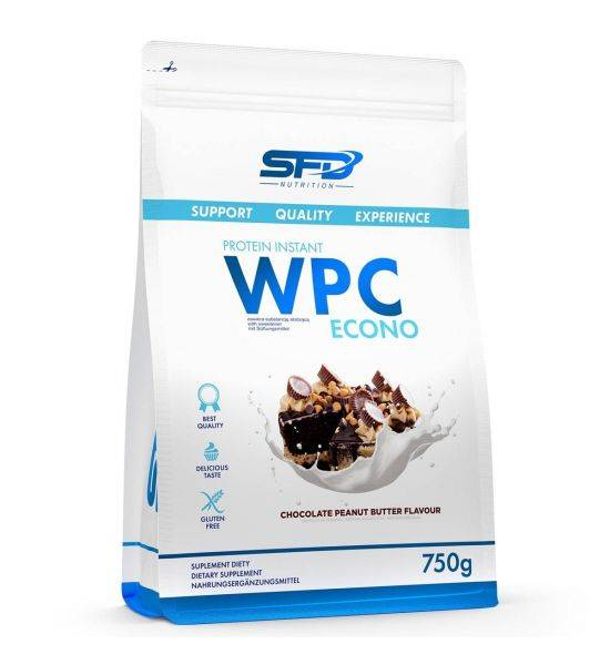 SFD WPC PROTEIN ECONO 750G - Salted Pistachio