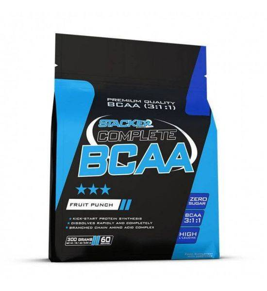 STACKER 2 COMPLETE BCAA 3:1:1 300G - Fruit Punch