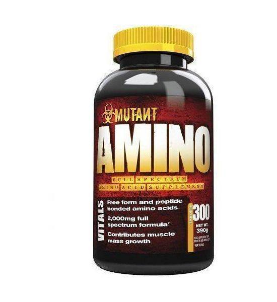 MUTANT AMINO - 300 TABLETS 2000MG