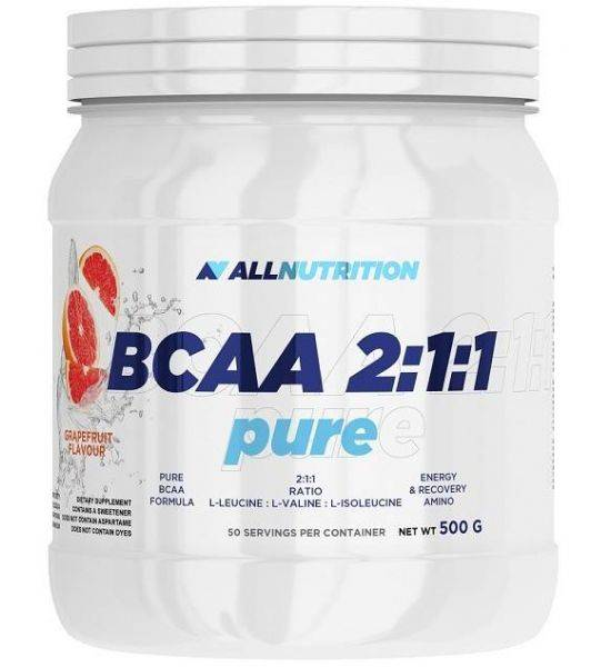 ALL NUTRITION BCAA 2:1:1 PURE 500G - Strawberry