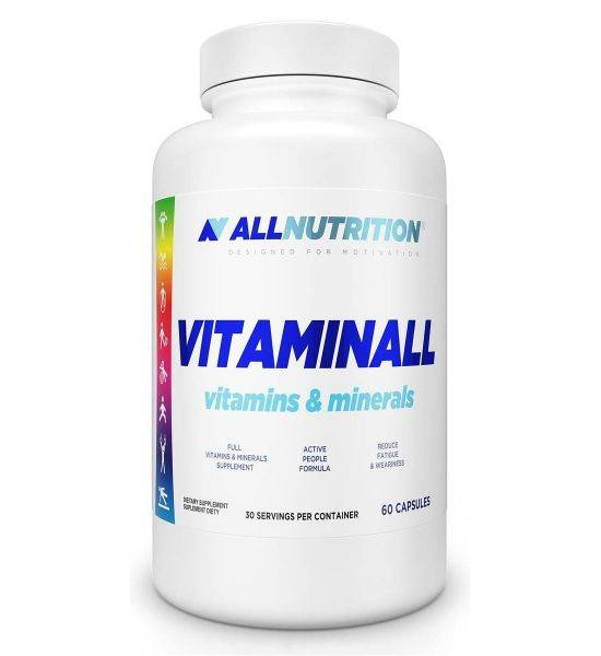 ALL NUTRITION VITAMINALL NEW 60 CAPSULES