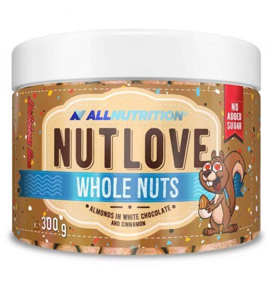 ALL NUTRITION NUTLOVE WHOLE NUTS 300G - White Chocolate & Cinnamon