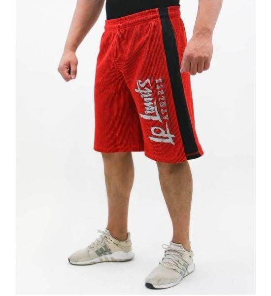 """FITNESS SHORTS """"BOSTOMIX"""" Red - Size M"""