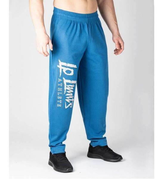 "KNITTED RAIN MESH ""BODY PANTS"" Blue - Size M"