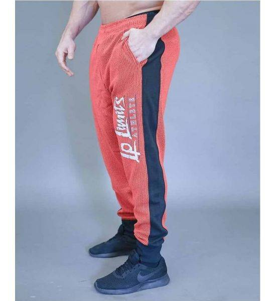 """FITNESS PANTS """"BOSTOMIX"""" Red - Size L"""