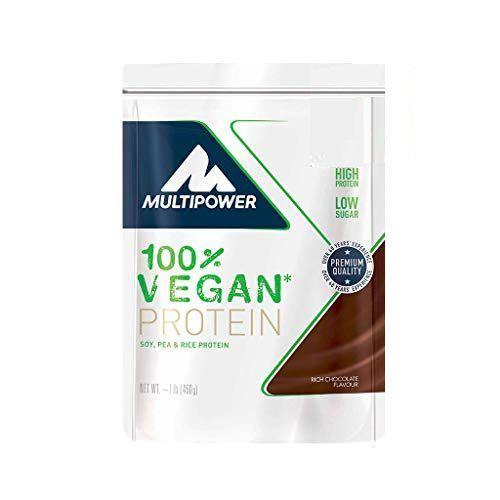 MULTIPOWER 100% Vegan Protein Chocolate 450gr
