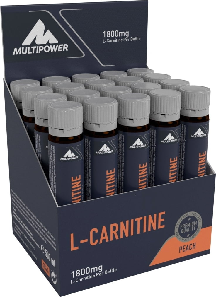 MULTIPOWER L-Carnitine Liquid Peach 1 piece