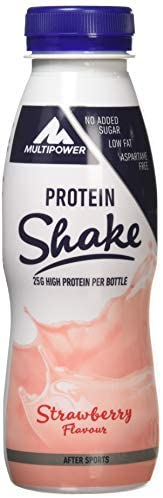 MULTIPOWER Protein Shake High Protein Strawberry 25gr