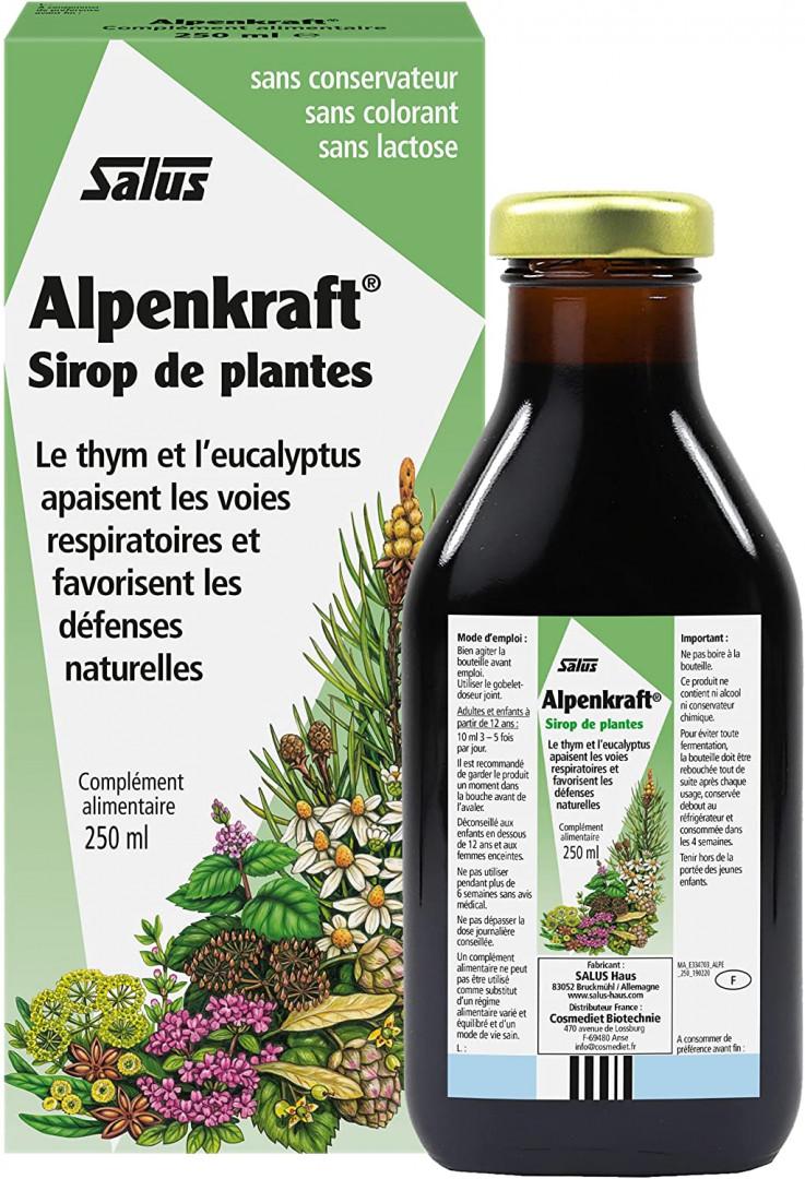 SALUS Alpenkraft Herbal Syrup 100ml