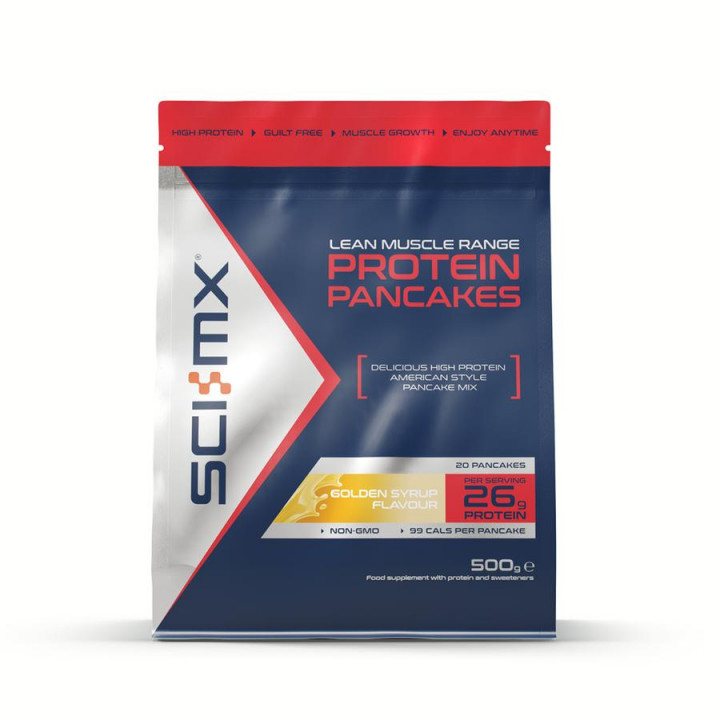 SCI-MX PROTEIN PANCAKES GOLDEN SYRUP 500GR