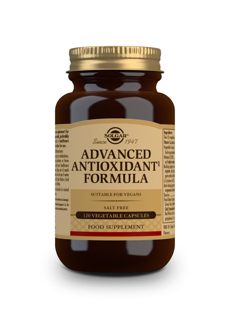 SOLGAR Advanced Antioxidant Formula 120 vegetable capsules