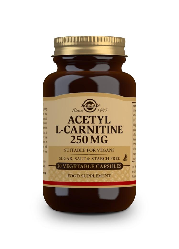 SOLGAR Acetyl-L-Carnitine 250mg