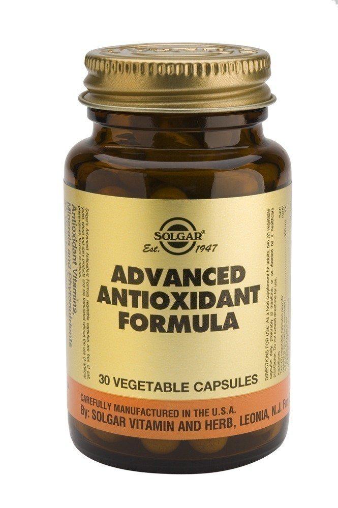 SOLGAR Advanced Antioxidant Formula 30 vegetable capsules