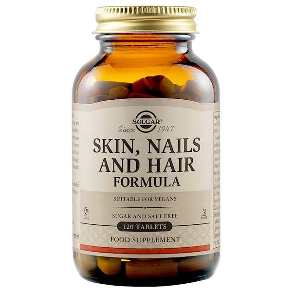 SOLGAR Skin Nails& Hair 120 tablets