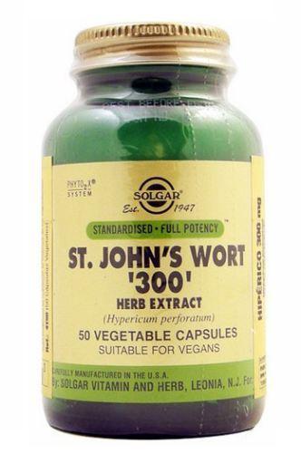 SOLGAR ST. Johns Wort 300 50 capsules
