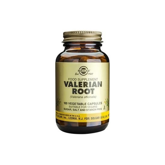 SOLGAR Valerian Root 520mg 100 VEGETABLE CAPSULES