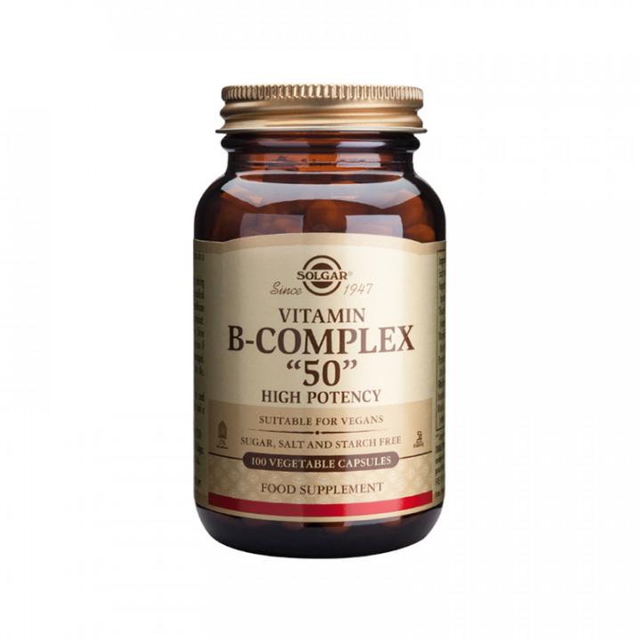 SOLGAR Vitamin B- Complex 100 vegetable capsules