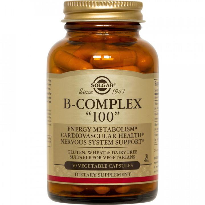 SOLGAR Vitamin B-Complex 100 Tablets
