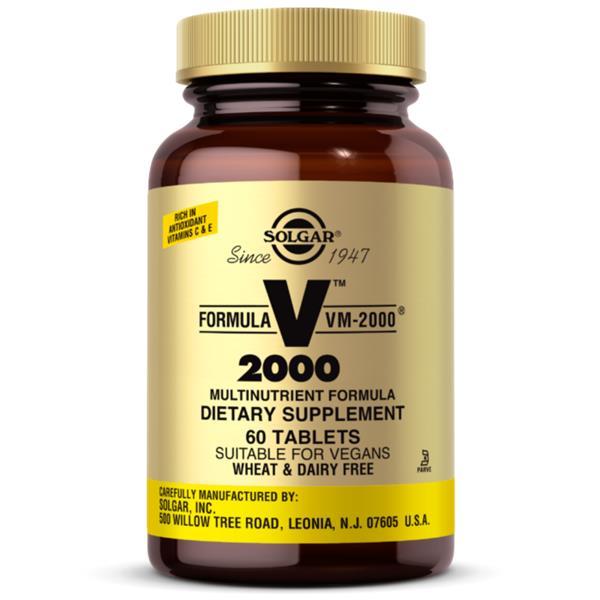 SOLGAR VM-2000 60 tablets