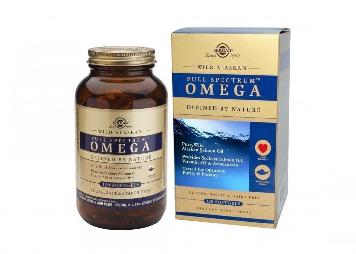 SOLGAR Wild Alaska Omega 120 softgels