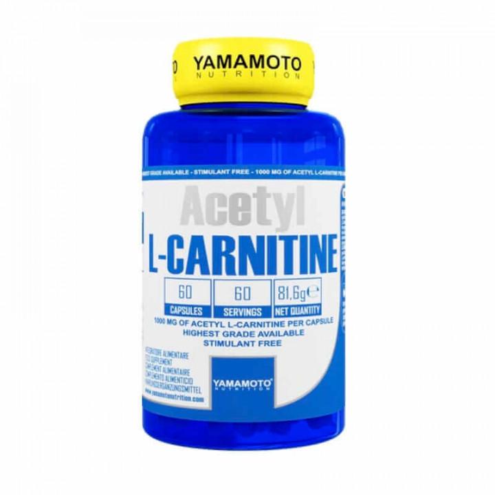 YAMAMOTO Acetyl L-Carnitine 1000mg 60 capsoules