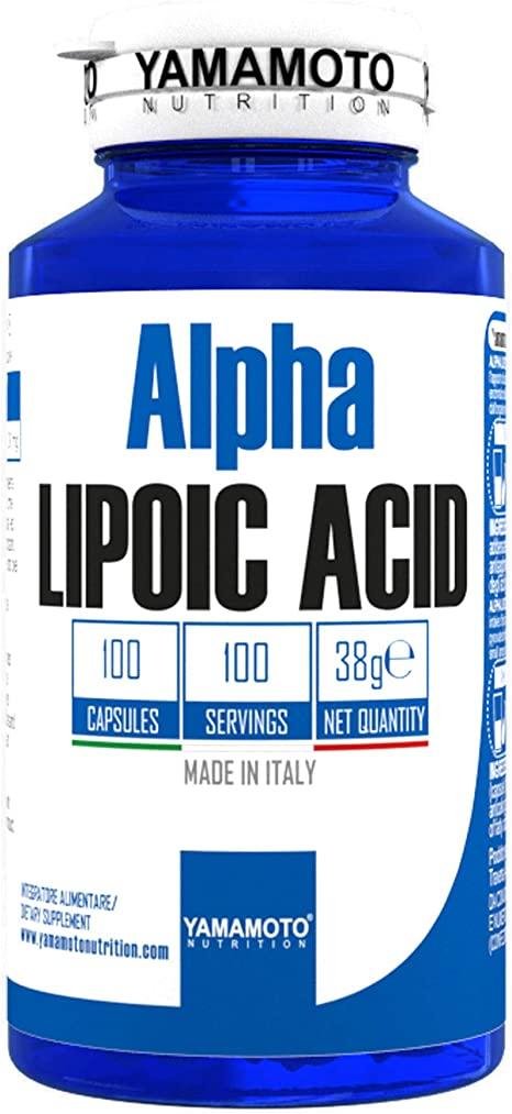 YAMAMOTO Alpha Lipoic Acid 100 capsoules