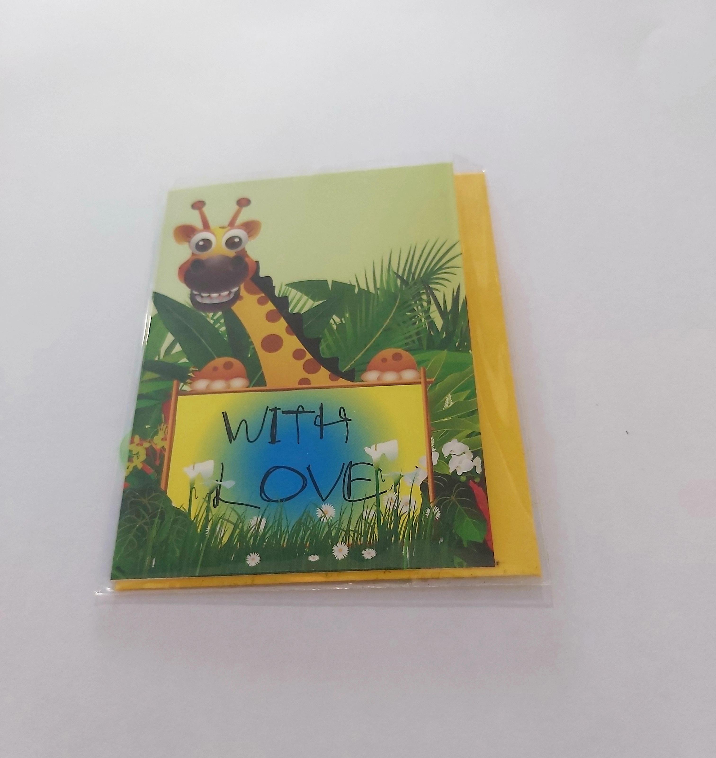 "Mini κάρτα ""With love"""