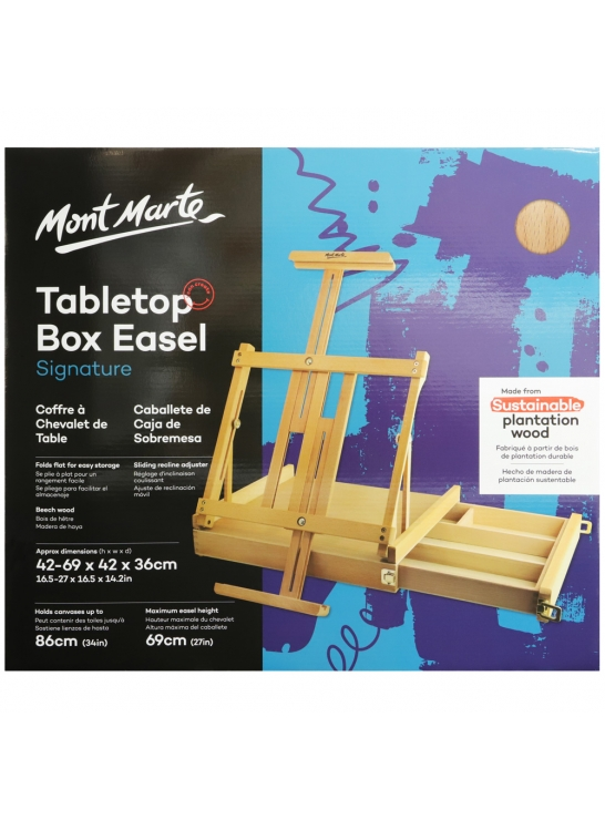 Signature Tabletop Box Easel