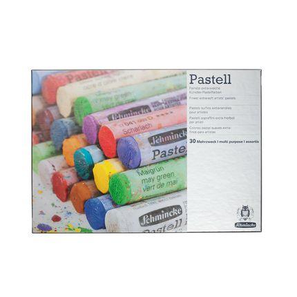 Schmincke Cardboard set, multi-purpose with 30 pastels