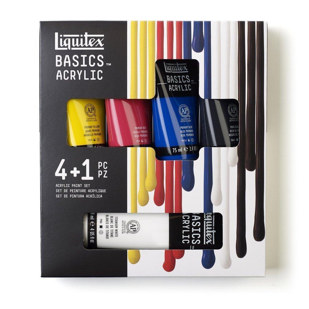 LIQUITEX basic set 4 + 1