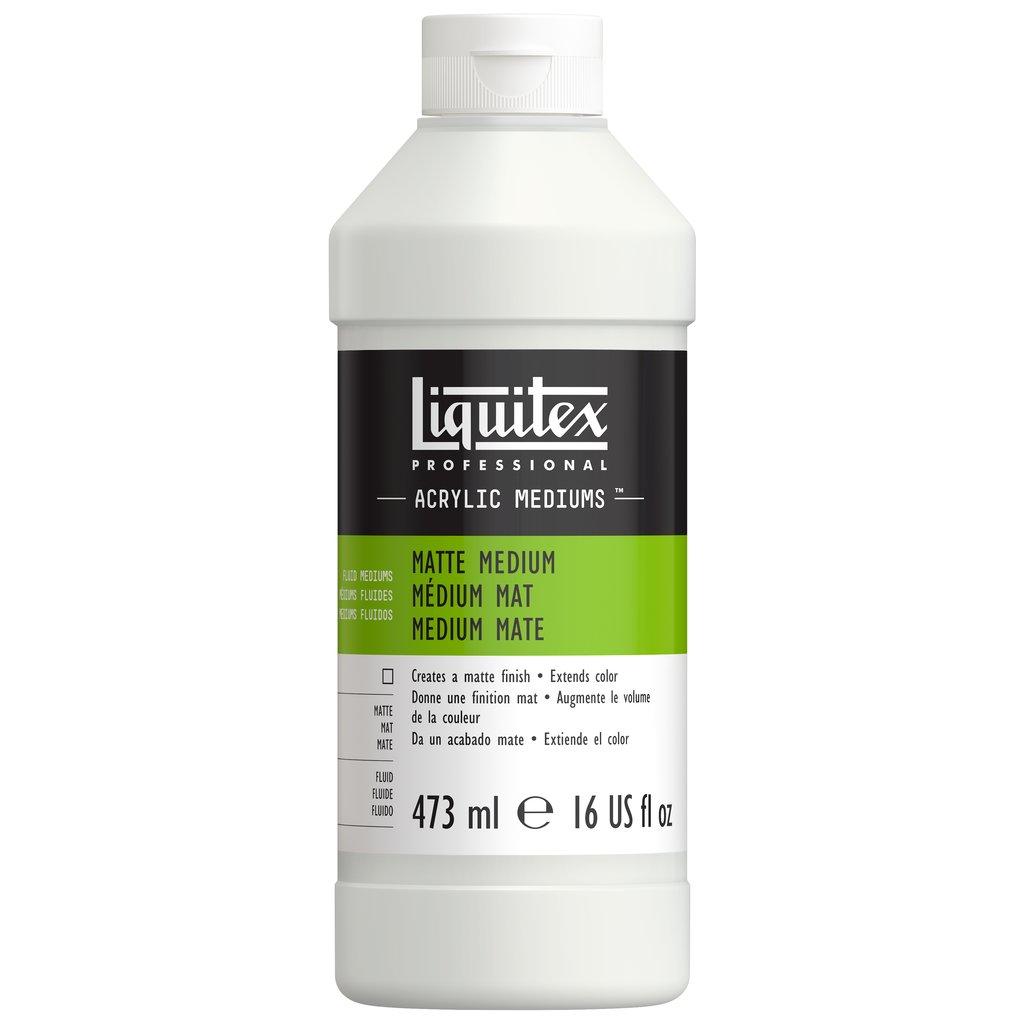 Liquitex Matte Fluid Medium 473mL