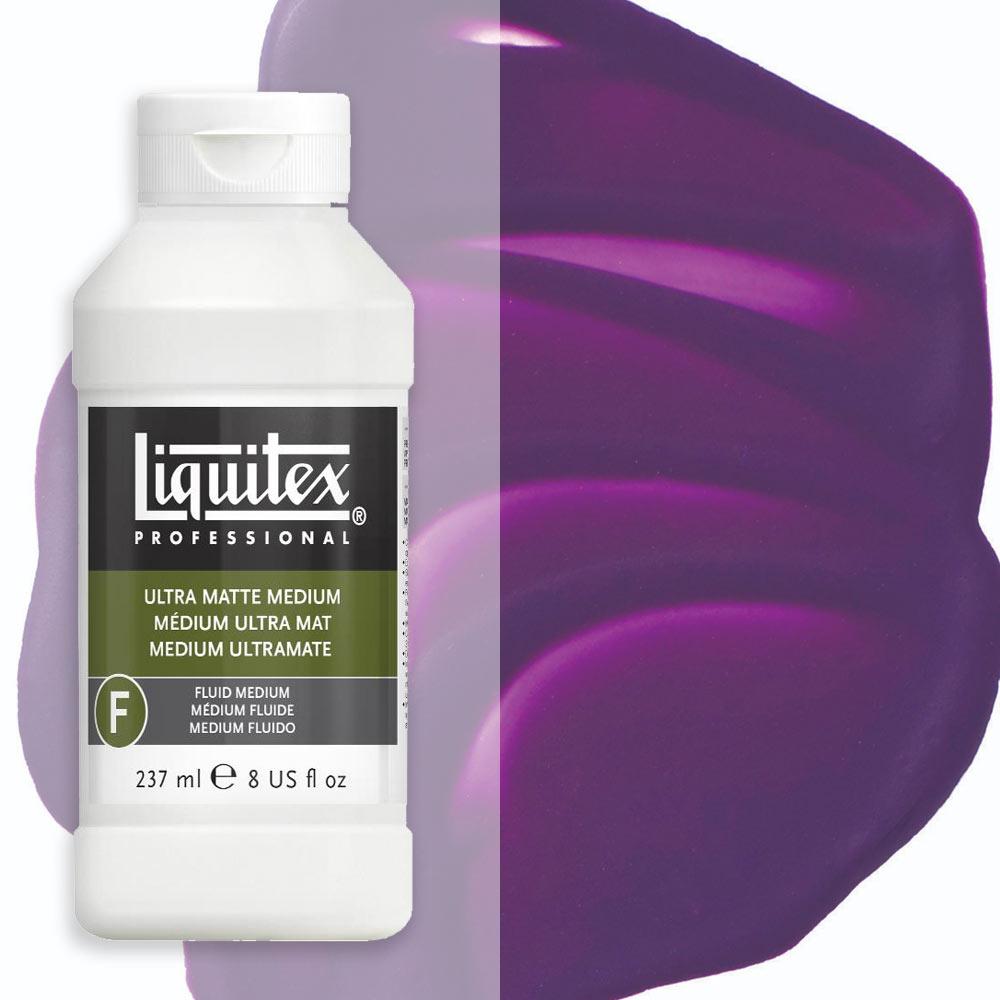 Liquitex Fluids Acrylic Medium - Ultra Matte 473ml