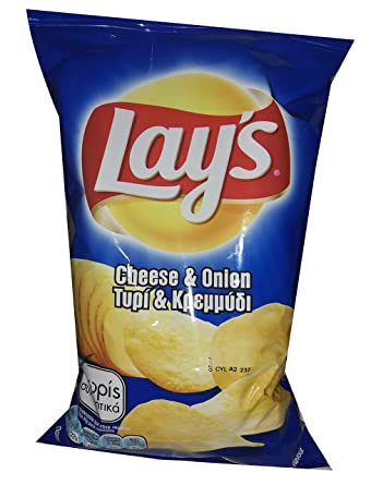 LAYS CHEESE & ONION  45G