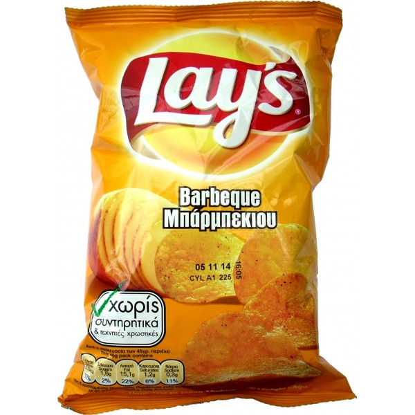 LAYS BARBEQUE  100G