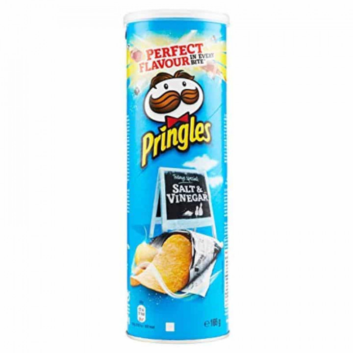 PRINGLES SALT & VINEGAR  165GR