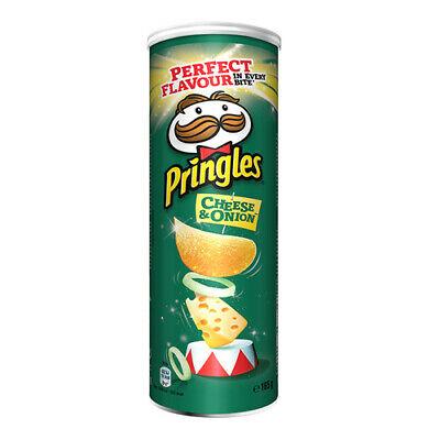 PRINGLES CHEESE & ONION  165GR