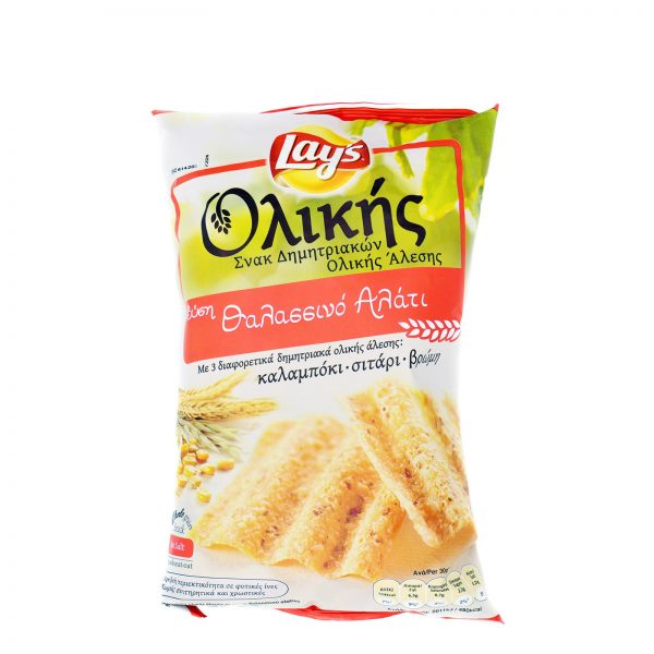 LAYS WHOLE WHEAT SALTED  65GR