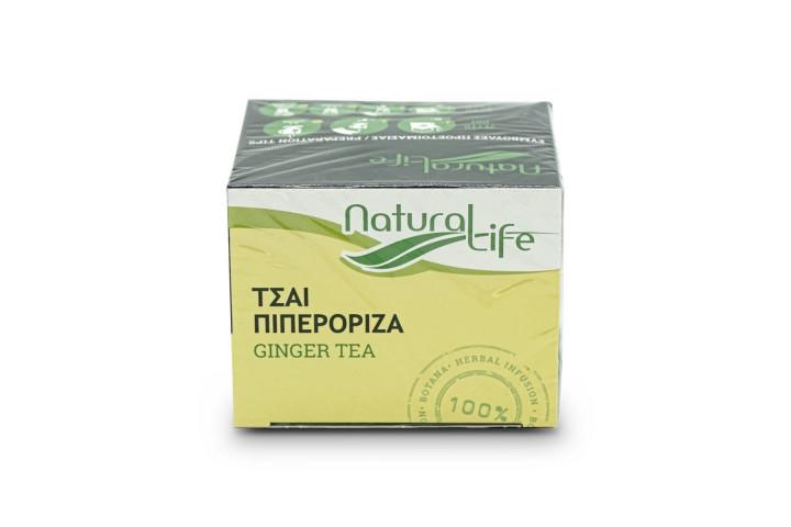 NATURAL LIFE TEA GINGER TEA  26G