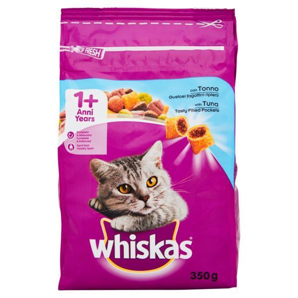 WHISKAS ADULT CAT DRY TUNA  350GR