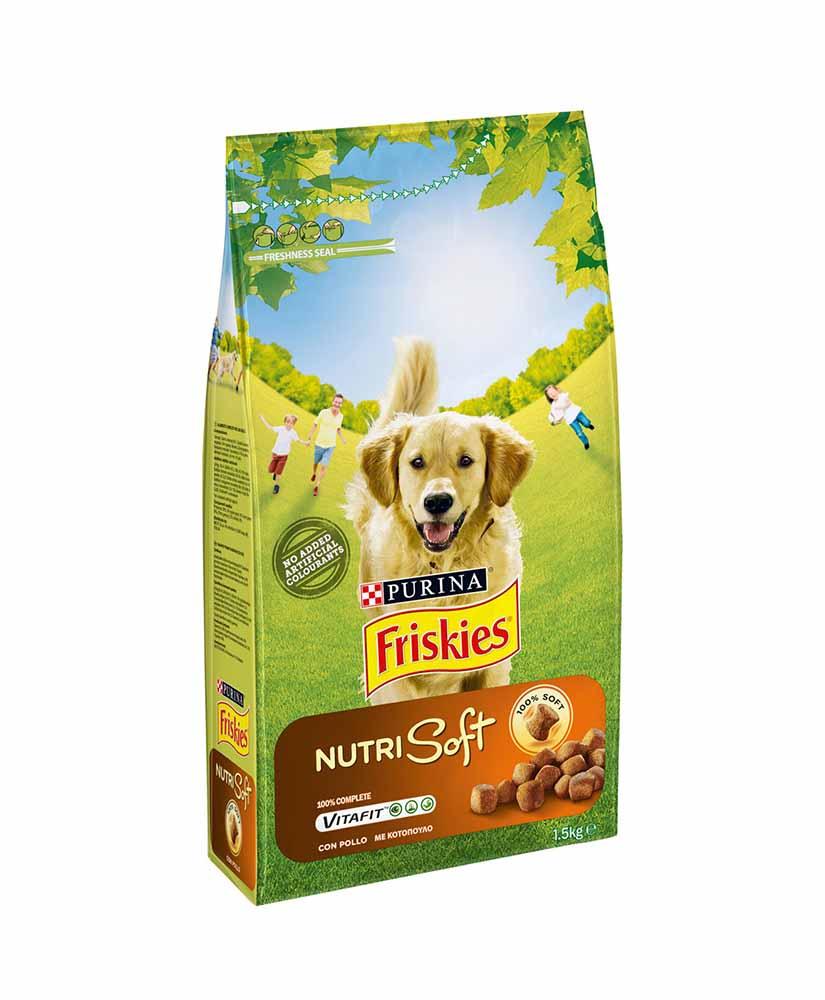 FRISKIES DOG NUTRISOFT CHICKEN  1.5KG