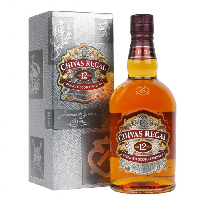 CHIVAS REGAL 12 YEARS BLENDED SCOTCH WHISKY  35CL