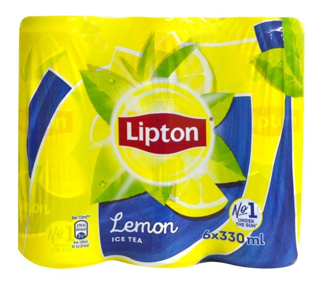 LIPTON LEMON ICE TEA  6 X 330ML