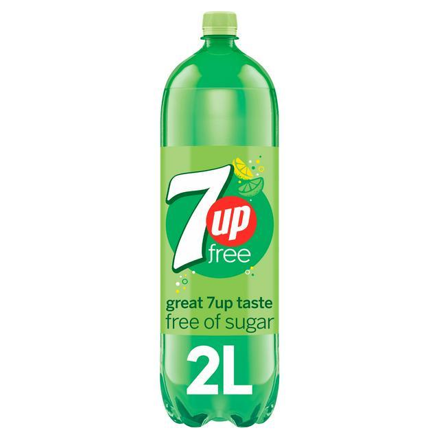 7UP SUGAR FREE  2L