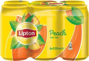 LIPTON PEACH ICE TEA  6 X 330ML