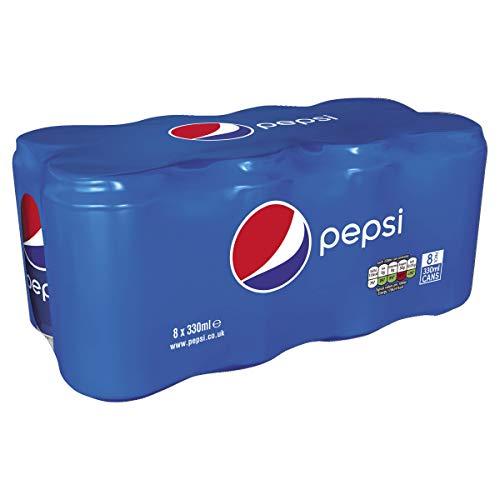 PEPSI SOFT DRINK  8 X 330ML