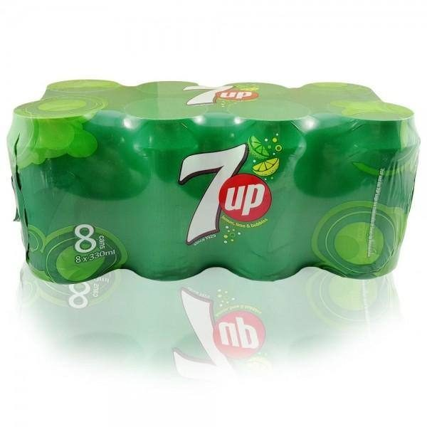 7UP SOFT DRINK  8 X 330ML