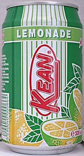 KEAN LEMONADE SOFT DRINK  330ML